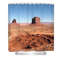 The Mittens Utah Shower Curtain