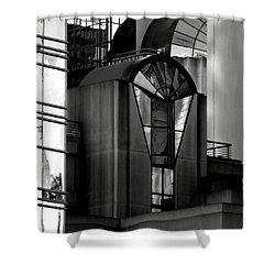 The Modern Highrise Shower Curtain by Bill Gallagher
