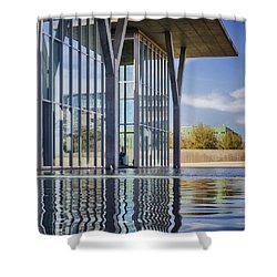 The Modern Shower Curtain by Joan Carroll