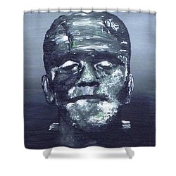 The Monster Shower Curtain