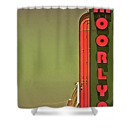 The Moorlyn At The Shore  Shower Curtain