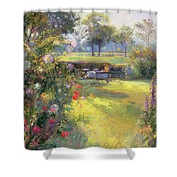 The Morning Letter Shower Curtain by Timothy  Easton