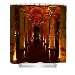 The Most Romantic Place Of Istanbul Shower Curtain