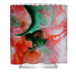 The Mother Hen Shower Curtain