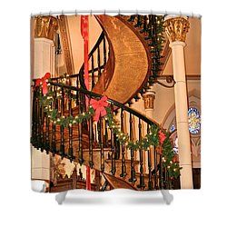 The Mysterious Miracle Staircase Shower Curtain