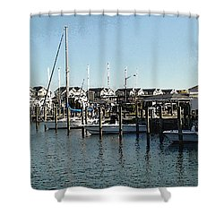At Kent Narrows Shower Curtain