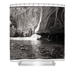 The Narrows Iv Shower Curtain