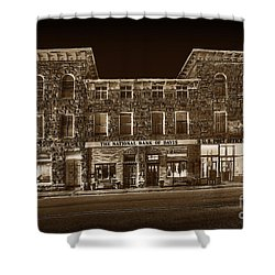 The National Bank Of Davis Wv Shower Curtain by Dan Friend
