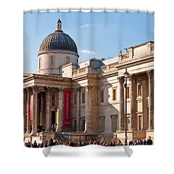 The National Gallery London Shower Curtain