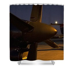 The Night II Shower Curtain
