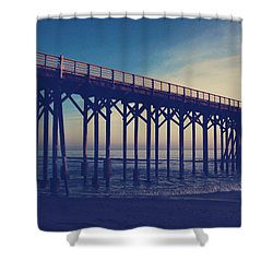 The Night Is Coming And We're Together Shower Curtain by Laurie Search