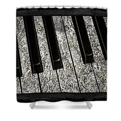 The Night The Music Died Shower Curtain by John Stephens