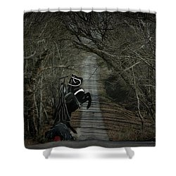 The Nightmare Shower Curtain by Davandra Cribbie