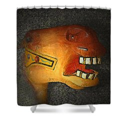 The Nightmare Shower Curtain by Ernie Echols