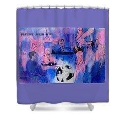 The Nineteen Sixties Shower Curtain