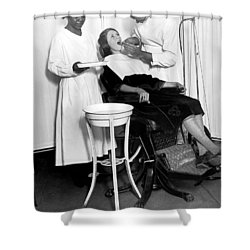The North Harlem Dental Clinic Shower Curtain