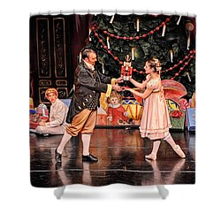 Shower Curtain featuring the photograph The Nutcracker by Bill Howard