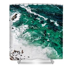 The Ocean, Cape Point Shower Curtain