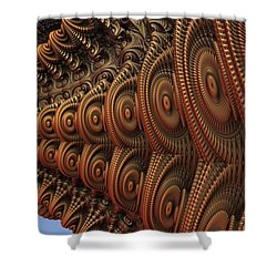 The Odd Beauty Of Fractals Shower Curtain by Lyle Hatch