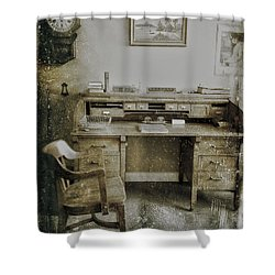 The Office  Shower Curtain by Jerry Cordeiro
