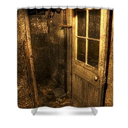 The Old Cellar Door Shower Curtain by Dan Stone