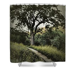The Old Chumash Trail Shower Curtain