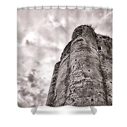 The Old Dungeon Shower Curtain