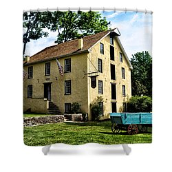 The Old Grist Mill  Paoli Pa. Shower Curtain by Bill Cannon