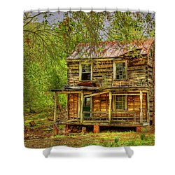 The Old Home Place Shower Curtain by Dan Stone