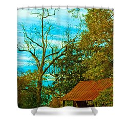 The Old Homestead 2 Shower Curtain