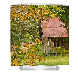 The Old Homestead 3 Shower Curtain