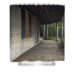 The Old Lowman House Shower Curtain by Brian Wallace