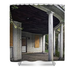 The Old Lowman Place Shower Curtain by Brian Wallace