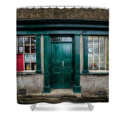 The Old Post Office Shower Curtain by Adrian Evans
