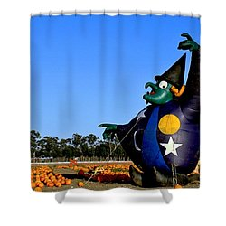 The Old Witch Shower Curtain