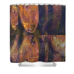 The Older The Better Shower Curtain by PainterArtist FIN