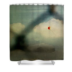 The One That Got Away Shower Curtain by Trish Mistric