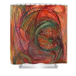The One Who Overcame Shower Curtain by Kelly K H B