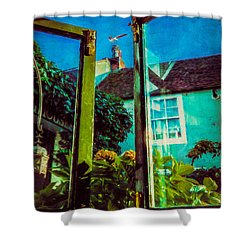 Shower Curtain featuring the photograph The Open Window by Chris Lord