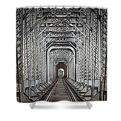 The Other Side  Shower Curtain by Barbara Chichester