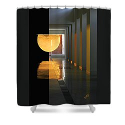 The Other Side Shower Curtain by Ben and Raisa Gertsberg