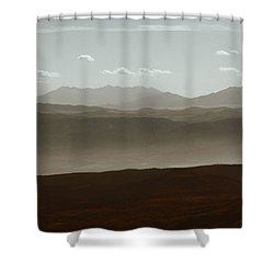 Shower Curtain featuring the photograph The Other Side by Dana DiPasquale