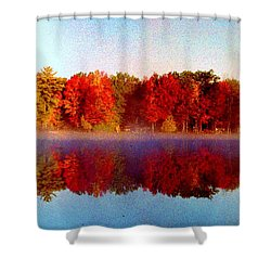 Shower Curtain featuring the photograph The Other Side... by Daniel Thompson