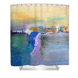 The Other Side Shower Curtain by Jim Whalen