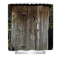 The Outhouse Shower Curtain  Outhouse Shower Curtain