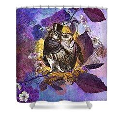 The Owlsleys Shower Curtain by Aimee Stewart