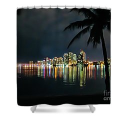 The Painted City Shower Curtain by Rene Triay Photography