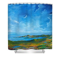 The Palette Of Ireland # 2 Shower Curtain