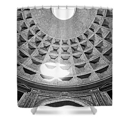 The Pantheon - Rome - Italy Shower Curtain by Luciano Mortula