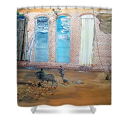 The Parade Of The Moods Shower Curtain by Lazaro Hurtado